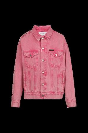 Relaxed Denim Jacket in Pink CALVIN KLEIN