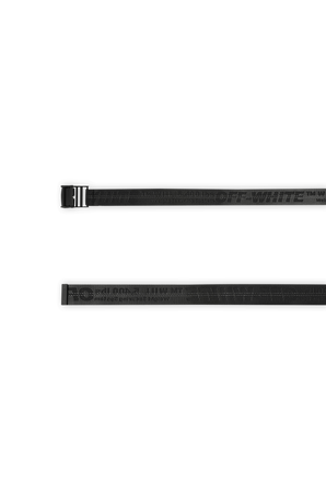 Off White Classic Industrial Belt In Black OFF WHITE