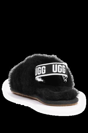 מידות 23-30 נעלי פלאף יה סליידס בגוון שחור UGG
