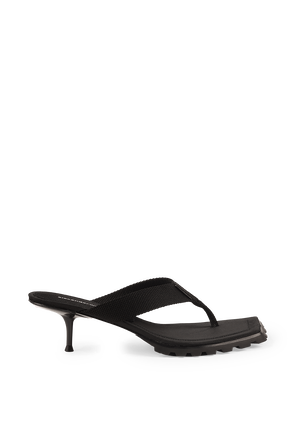 Jessie Lug Sandals in Black ALEXANDER WANG