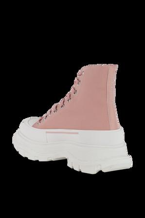 Tread Slick Boots in Magnolia ALEXANDER MCQUEEN