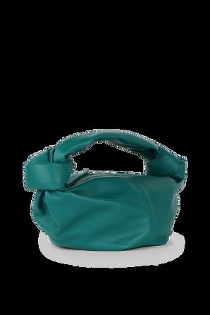 Double Knot Mini Bag in Turquoise BOTTEGA VENETA
