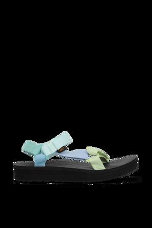Midform Universal Sandals in Blue TEVA