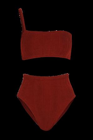 Maxime Nile Bikini in Deep Red HUNZA G