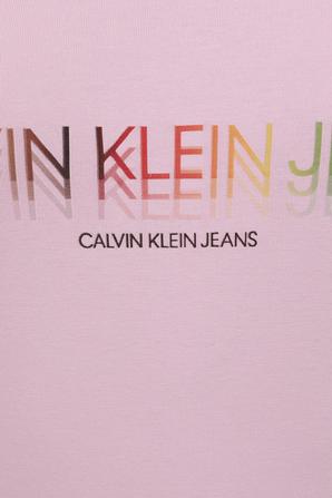 Pride - Logo Bodysuit in Pink CALVIN KLEIN