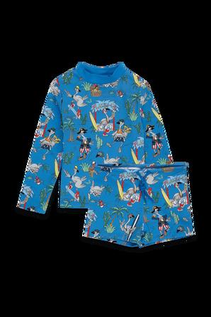 גילאי 2-6 סט בגד ים בפרינט צבעוני STELLA McCARTNEY KIDS