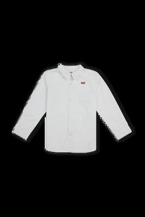 גילאי 2-4 חולצת כפתורים קלאסית עם פאצ לוגו LEVI`S KIDS