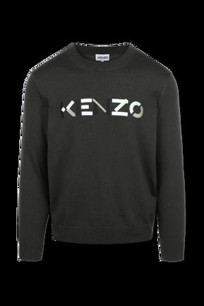 Kenzo Knit Jumper in Grey KENZO