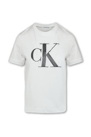 Logo T-Shirt in White CALVIN KLEIN