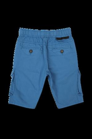 גילאי 2-14 מכנסי ברמודה קצרים כחולים STELLA McCARTNEY KIDS