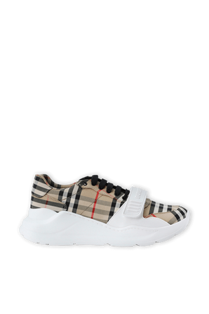 Vintage Check Cotton Sneakers BURBERRY