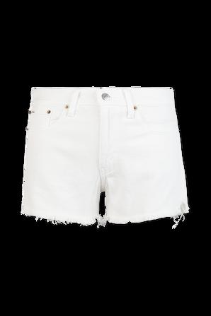 Denim Shorts in White POLO RALPH LAUREN