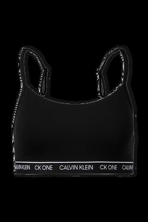 Unlined CK1 Bralette in Black CALVIN KLEIN