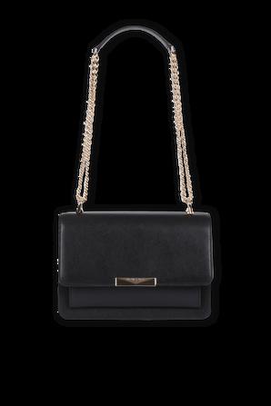 Jade LG Leather Crossbody in Black MICHAEL KORS
