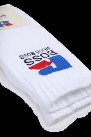Boss X Russell Athletic Quarter-Length Socks BOSS
