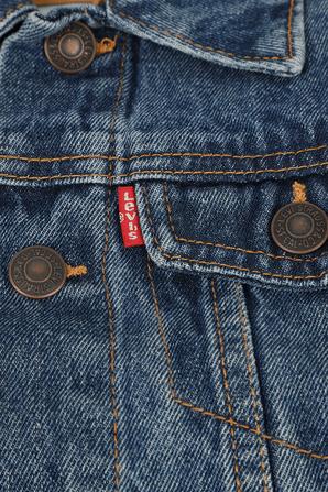 גילאי 4-7 ז'קט ג'ינס קלאסי בגוון אינדיגו LEVI`S KIDS