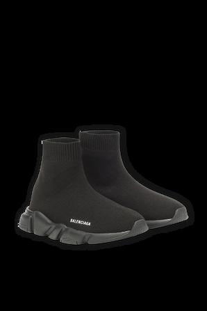מידות 25-32 נעלי גרב בשחור עם סולייה שחורה BALENCIAGA KIDS
