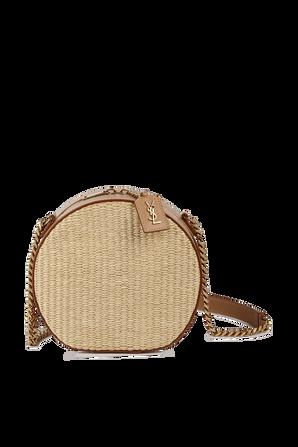 Mica Small Side Bag in Beige SAINT LAURENT