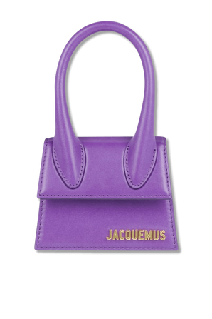Mini Le Chiquito in Purple JACQUEMUS