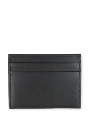 Card Holder with Printed Logo in Black Leather DOLCE & GABBANA