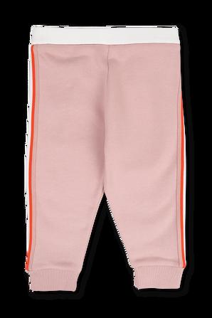 גילאי 3 חודשים- 3 שנים מכנסי גו'ג בצבע ורוד MONCLER KIDS