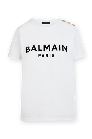 Balmain Slim Fit T-Shirt in White BALMAIN