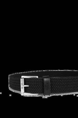 Belt With Black Leather Trims HUGO