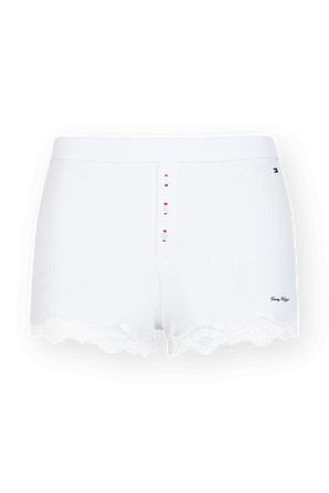 Lace Shorts in White TOMMY HILFIGER