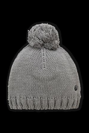 גילאי 4-12 כובע גרב אפור עם פונפון PETIT BATEAU