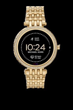 שעון חכם דור 5 בגוון זהוב MICHAEL KORS