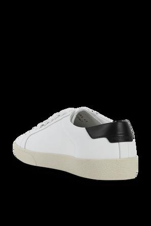 SL06 Court Leather Signature Sneakers SAINT LAURENT