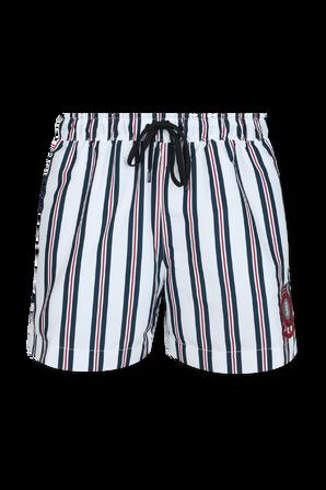 Stripe Mid Length Swim Shorts TOMMY HILFIGER