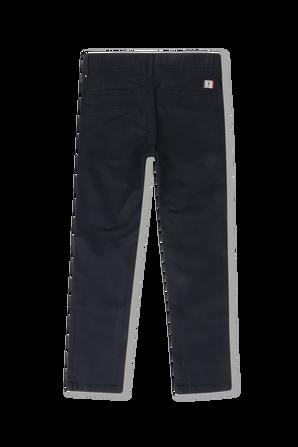 גילאי 8-16 מכנסי אופנה בכחול נייבי TOMMY HILFIGER KIDS