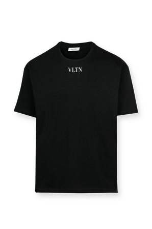 VLTN Logo Tee in Black VALENTINO