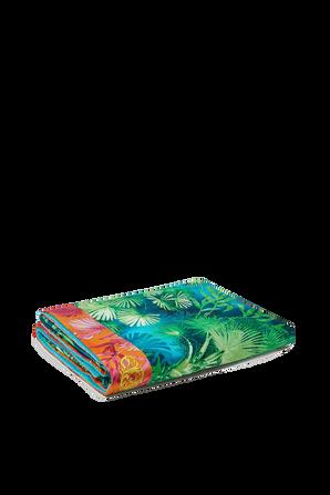 Jungle Print Bath Towel VERSACE