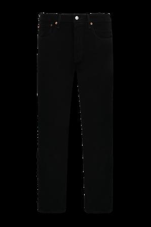 501 Original Fit Black Jeans LEVI`S