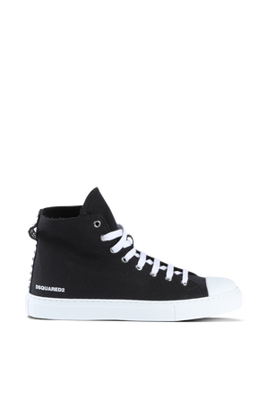 High Sneakers in Black DSQUARED2