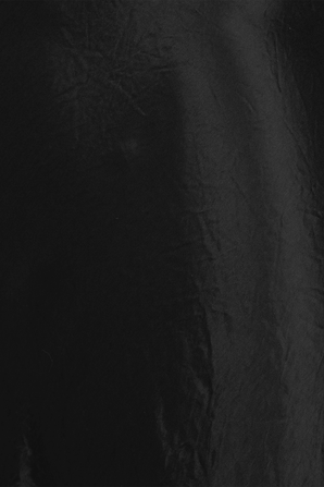Satin Slip Midi Skirt in Black VINCE