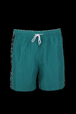 Medium Drawstring Swim Shorts in Green CALVIN KLEIN
