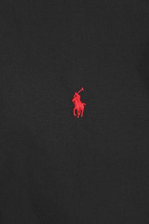Black Classic Fit Poplin Shirt POLO RALPH LAUREN