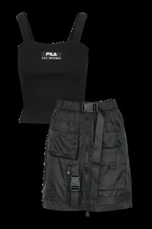 Fashion Skirt Set in Black FILA