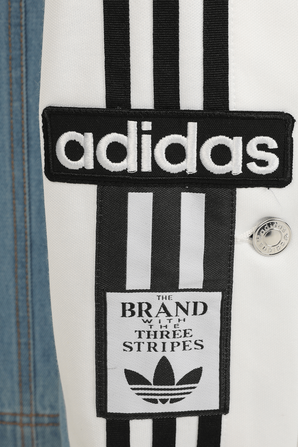 Adidas x Dry Clean Only Denim Adibreak Pants in Blue ADIDAS ORIGINALS