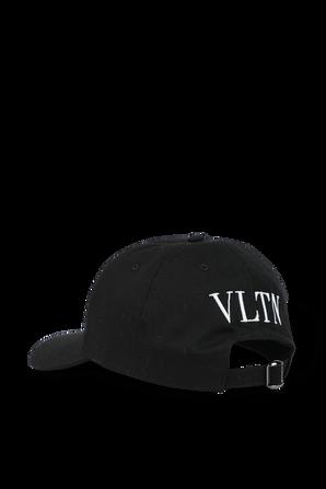 Classic Baseball Cap in Black VALENTINO