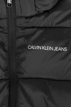 גילאי 4-16 מעיל פאפר בצבע שחור CALVIN KLEIN