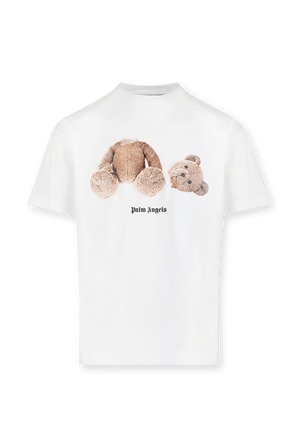 Ice Bear Tee in White PALM ANGELS