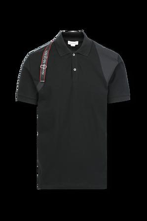 McQueen Cotton Sweatshirt in Black ALEXANDER MCQUEEN